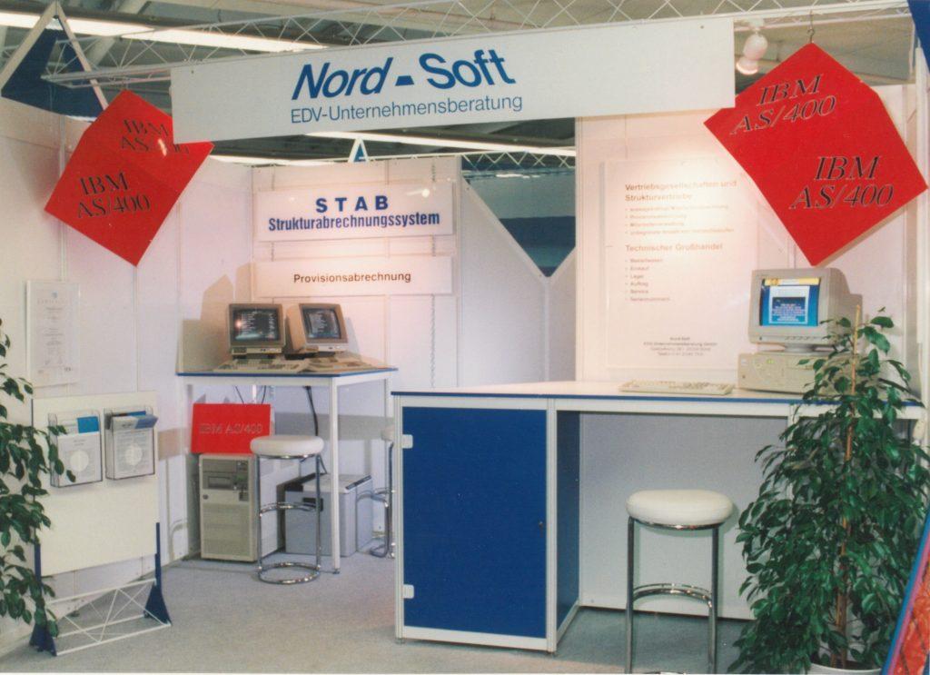 Messestand alt Nord-Soft EDV-Unternehmensberatung GmbH