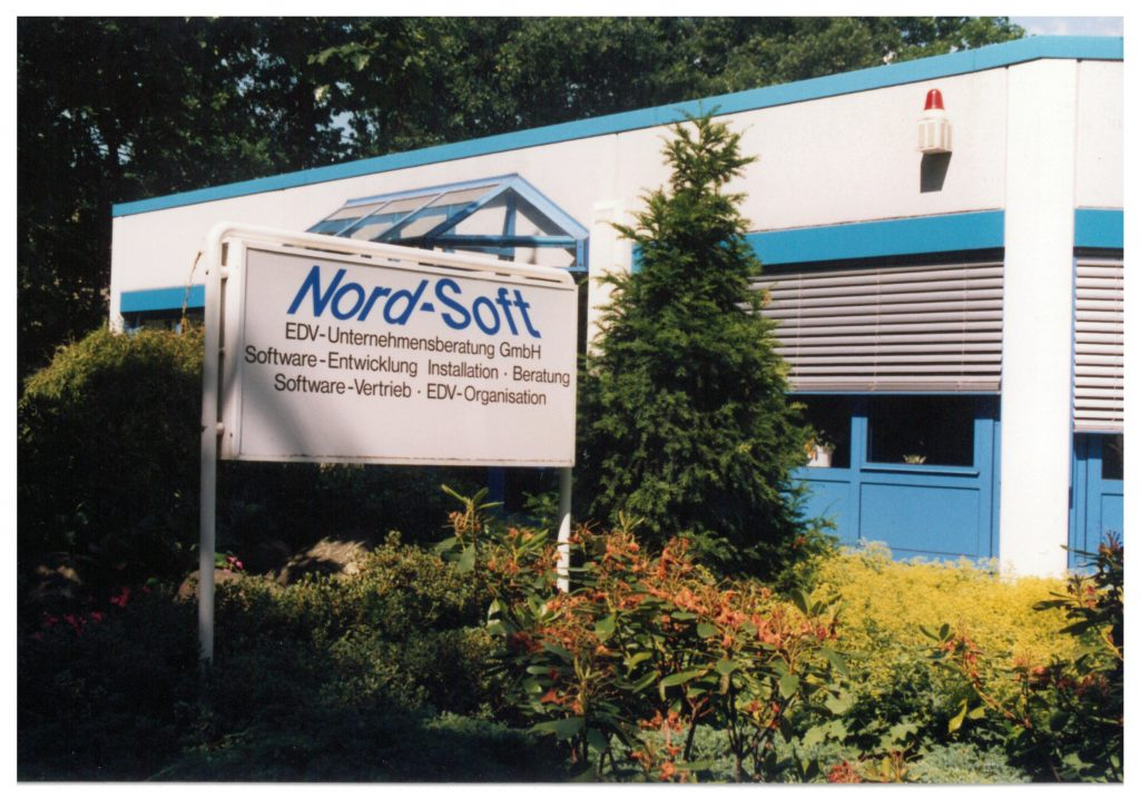Eingang Nord-Soft EDV-Unternehmensberatung GmbH